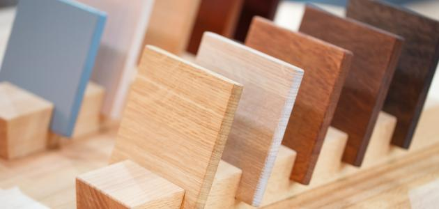 أنواع الأخشاب