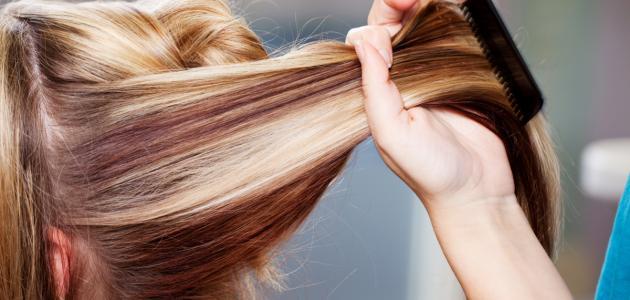 أنواع بروتين الشعر