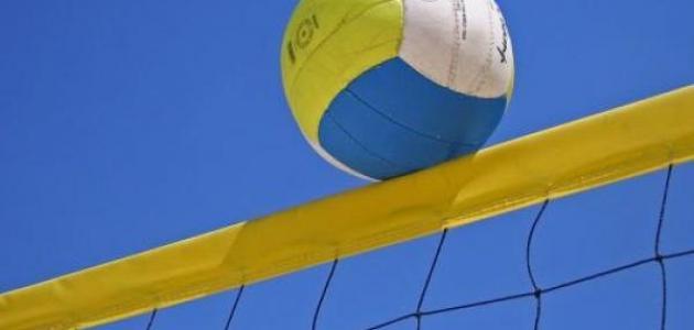 بحث عن كرة الطائرة