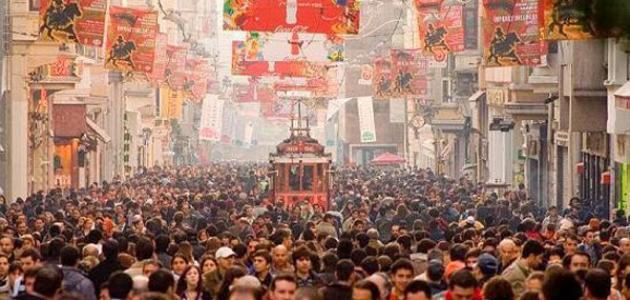 كم عدد سكان تركيا