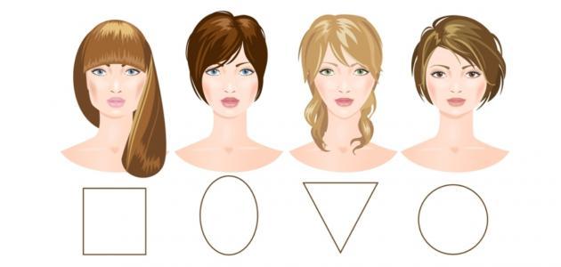 أنواع الوجوه
