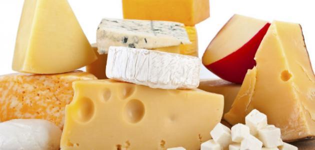 أنواع الأجبان