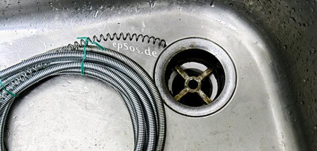 طريقة تسليك مواسير المياه