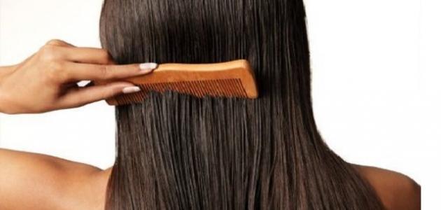 طريقة لتخفيف كثافة شعر الرأس