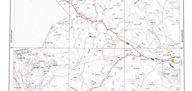 تعريف الخريطة