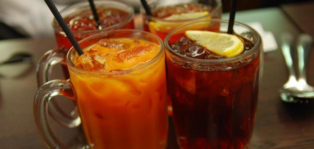 أنواع من المشروبات