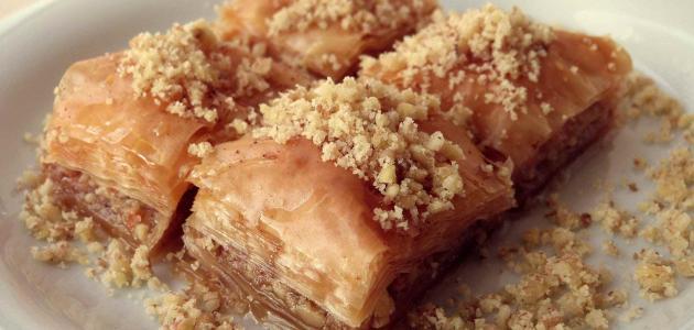 أنواع الحلويات الشرقية