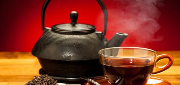 أضرار الشاي الأسود