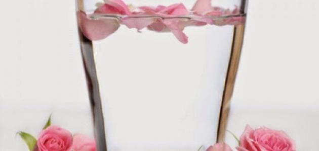 فوائد ماء الورد للشرب