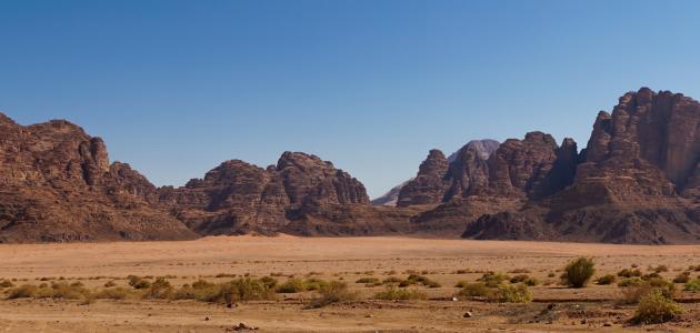 أطول سلسلة جبلية في الأردن