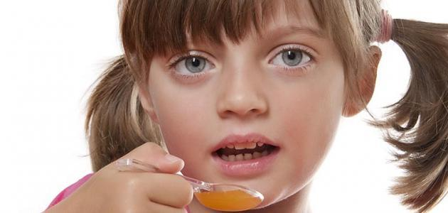 علاج سعال الأطفال