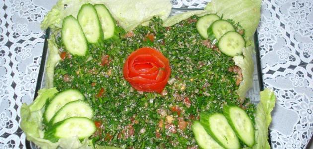 أشهر الأكلات السورية