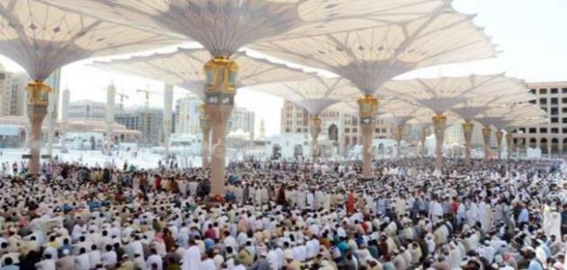 الصلاة في المسجد النبوي
