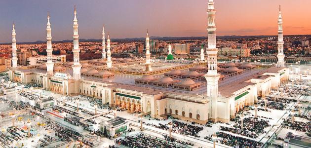 الصلاة في المسجد النبوي - موضوع