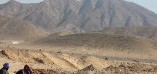 أين يقع جبل حلال