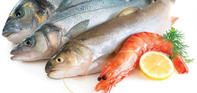 أنواع السمك للأكل