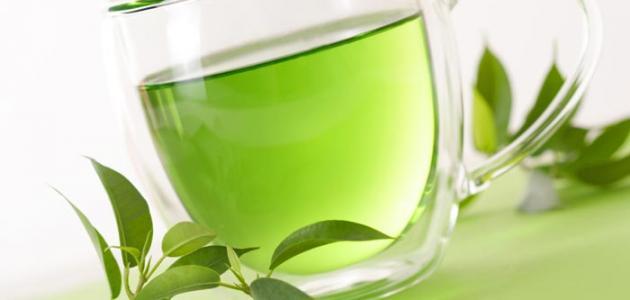 أنواع الشاي الأخضر
