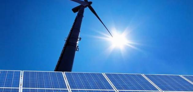 بحث عن الطاقة ومصادرها