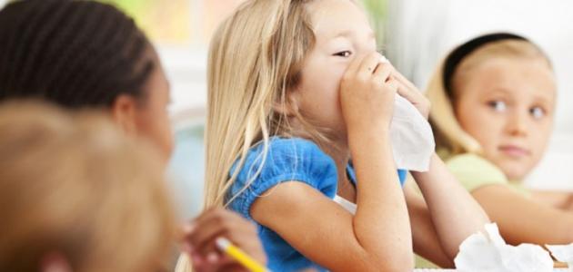 علاج سيلان الأنف عند الأطفال