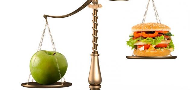 بحث عن الغذاء الصحي