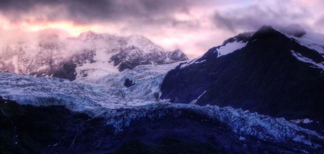 وصف الطبيعة في فصل الشتاء