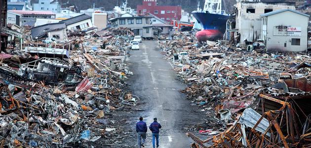 كيف حدث زلزال اليابان