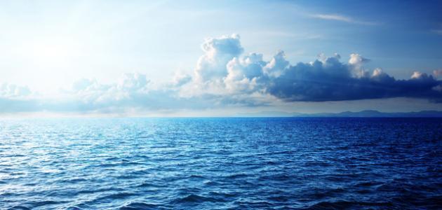 أهمية البحار بالنسبة للإنسان