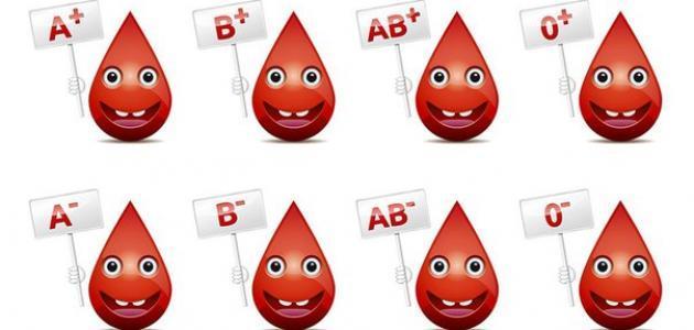 عدد فصائل الدم كام في الإنسان البشري