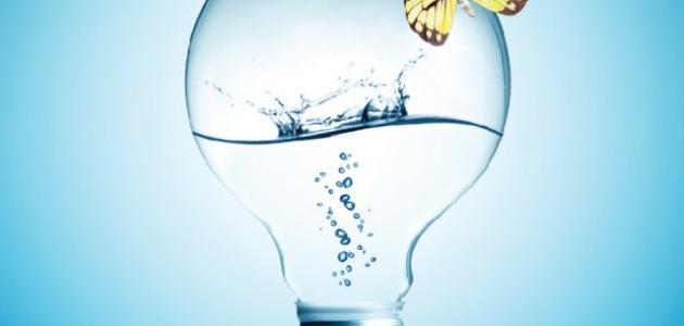 الماء والكهرباء
