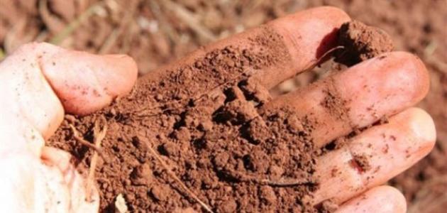 أنواع التربة الزراعية