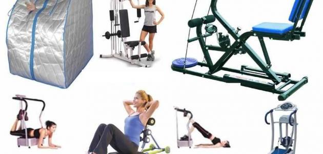 أدوات الرياضة