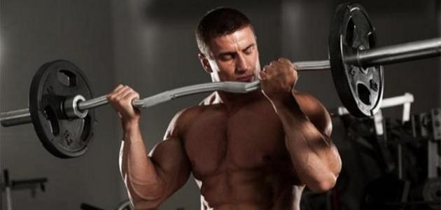 تمارين تضخيم العضلات