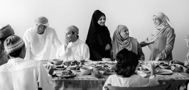 بحث عن أهمية العائلات