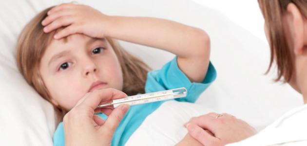 أسباب ارتفاع درجة الحرارة عند الأطفال