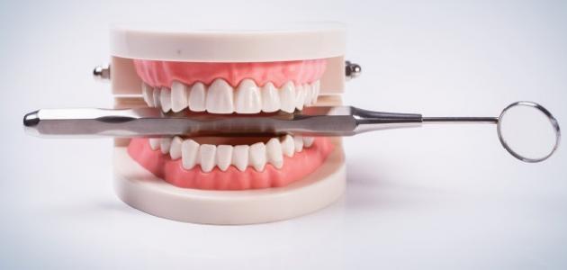 الضغط على الأسنان