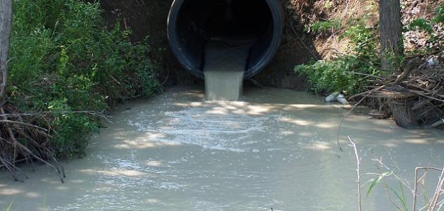 مفهوم تلوث الماء