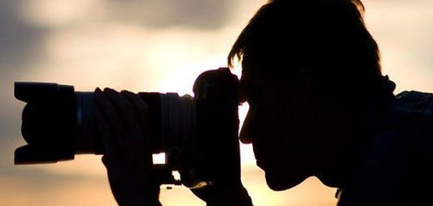 أنواع التصوير الفوتوغرافي