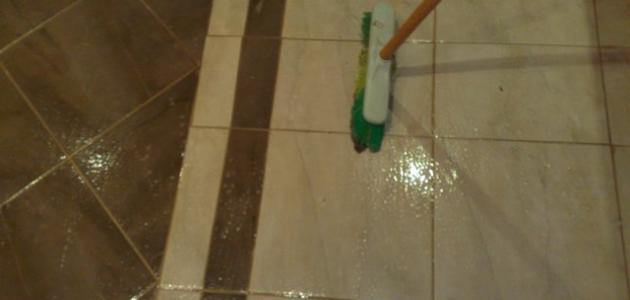 أفضل طريقة لتنظيف السيراميك