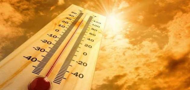 أعلى درجة حرارة سجلت في العالم
