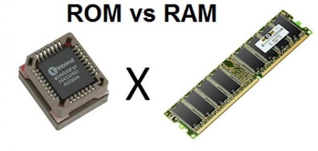 الفرق بين RAM و ROM