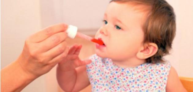 علاج بلغم الرضع