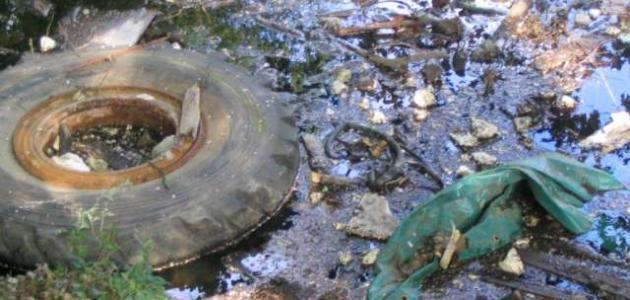 بحث عن تلوث التربة