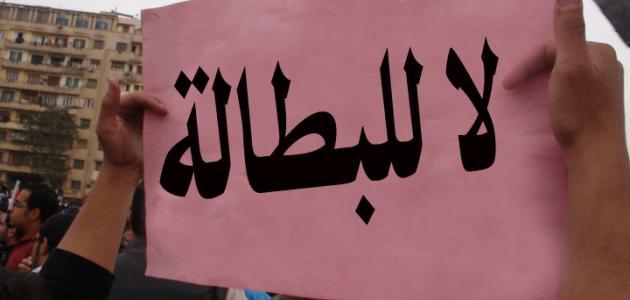 بحث عن البطالة في مصر