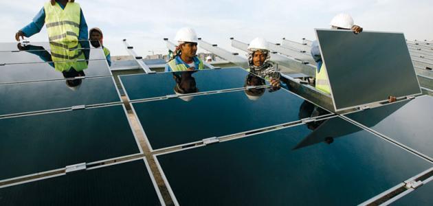 أنواع الخلايا الشمسية