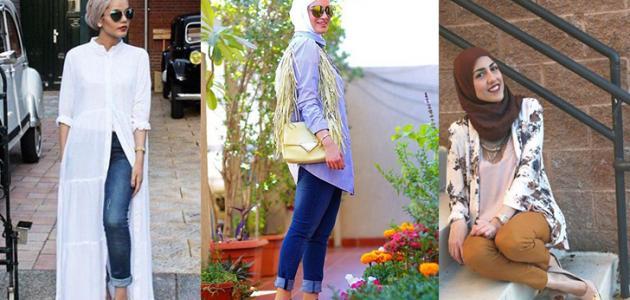 تنسيق ألوان الملابس للمحجبات