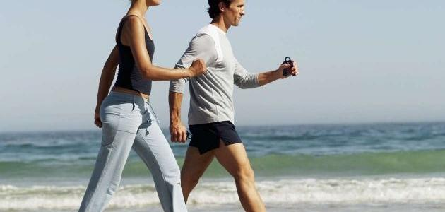 إنقاص الوزن بالمشي
