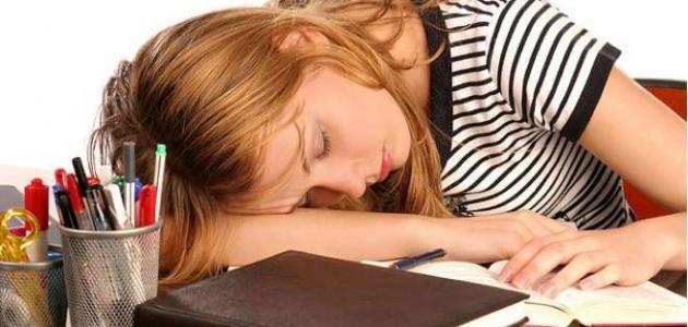 التغلب على النوم