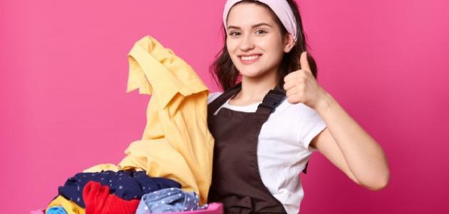 إزالة العفن عن الملابس