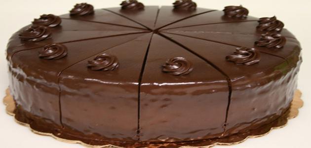أسهل كيكة شوكولاته