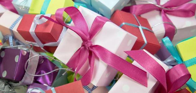 أفكار لتغليف الهدايا